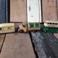 3 Dinky toys public service England