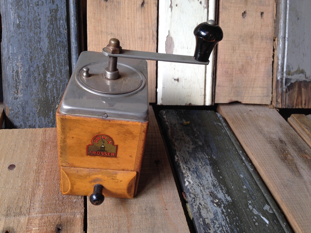 Armin Tr Sser Coffee Grinder 1950 Germany Vintage Man Stuff
