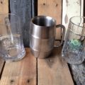 3 beer mugs 0,3L Germany Holland 1980