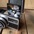 Zeiss Ikon Ikomatic F Camera Germany 1960 bag