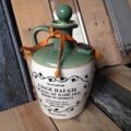Tullamore Dew whiskey Jar 1960 Ireland
