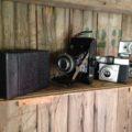 4 vintage cameras Germany France England