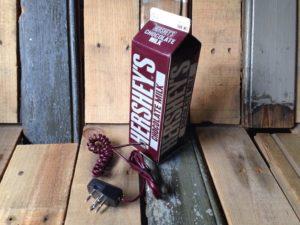Chocolate milk box phone Hersheys 1980 USA