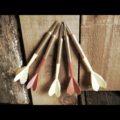 Set of 5 practice darts 1970 Taiwan