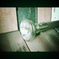 Steel Steamship flashlight Hong Kong 1950