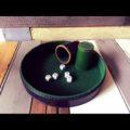 Leather dice game set 1970 2 cups craps