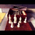 Homas Chess set Ivora 1970 Netherlands
