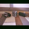 3 video cameras 1980 battery operated