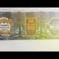 3 Whisky glasses Grant's W and P Clyde Spray 1980 Italy