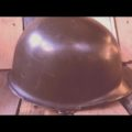 M53 army helmet 1987 vintage Dutch soldier military