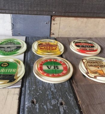 6 x VICTORIA BITTER  Brewery Issue  collectable COASTERS