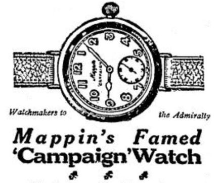 Early wrist pocket wrist watch